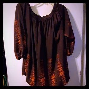Lane Bryant long sleeve blouse